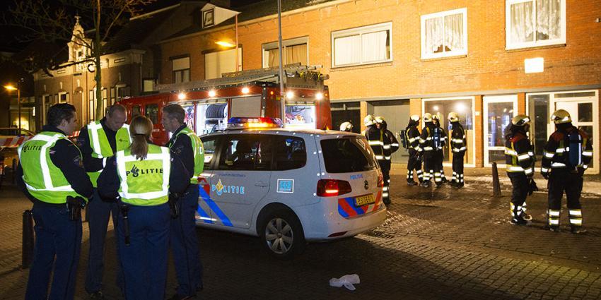 Foto van brand in Schijndel   Persburo Sander van Gils   www.persburausandervangils.nl