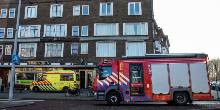 Licht gewonde bij brand in Schiedam