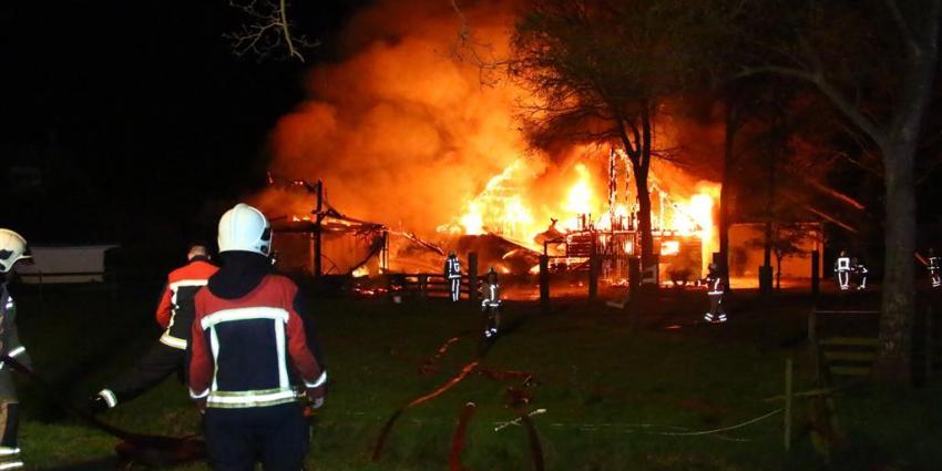 Twee schuren in vlammen opgegaan in Orvelte