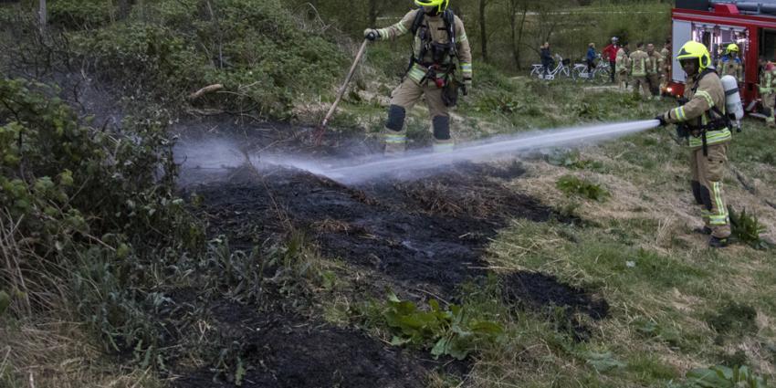 Brand in de Broekpolder