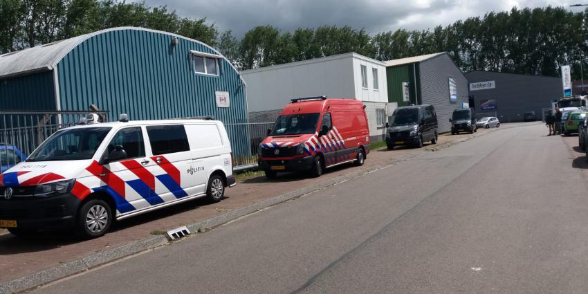 Ontmanteling drugslab Groningen