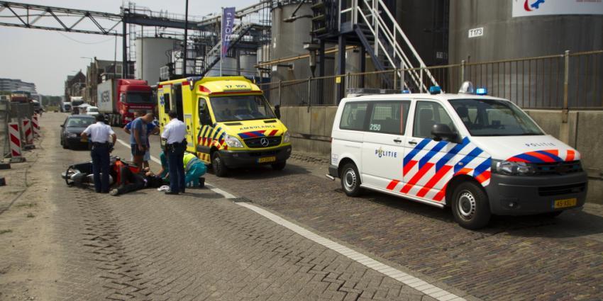 Foto van ongeval met scootmobiel | Flashphoto | www.flashphoto.nl