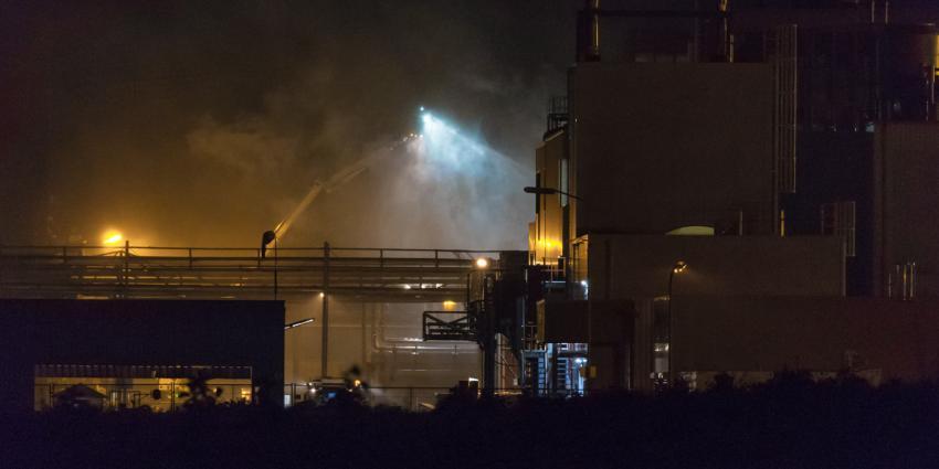Zeer grote brand in Foxhol