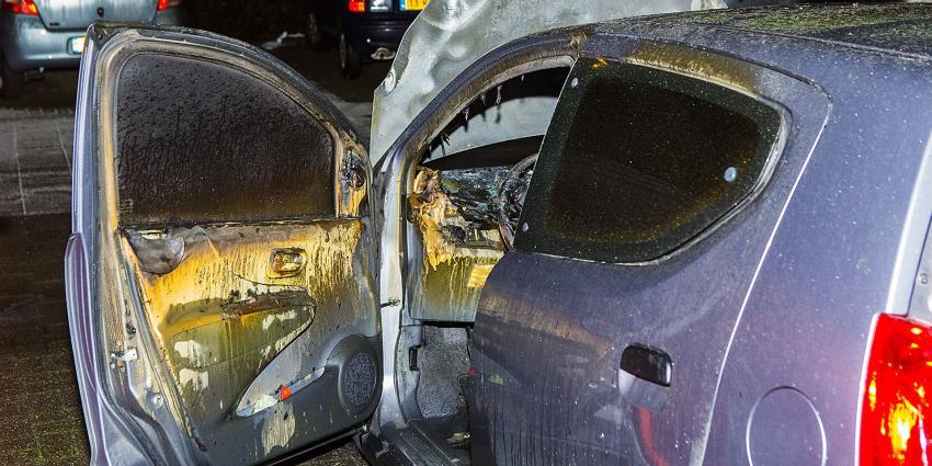 Auto's van echtpaar in 's-Hertogenbosch doelwit van brandstichting
