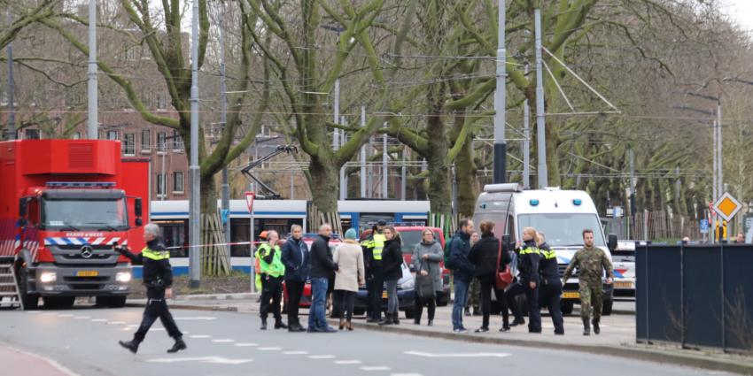 EOD ter plaatse in Amsterdam