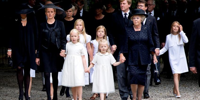 Foto van uitvaart Prins Friso | HANDOUT / ANP / KOEN VAN WEEL / EDITORIAL USE ONLY.