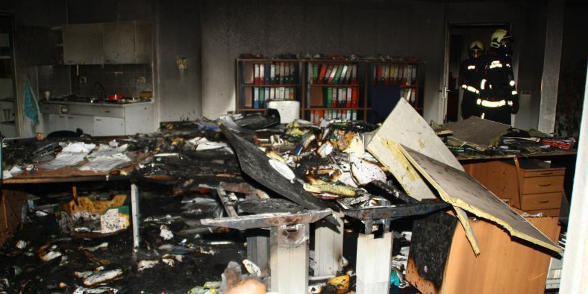 Foto van brand in Hoogeveen   Henk Brunink