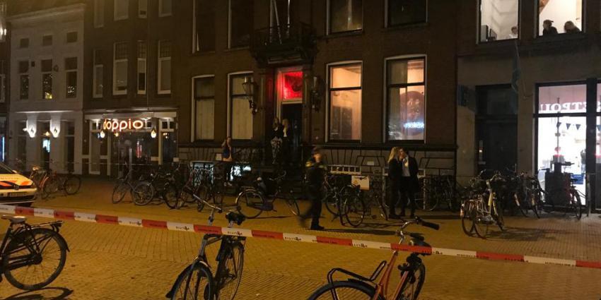 Steekpartij in Groningen