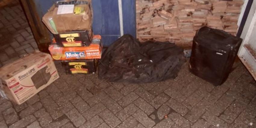 Cocaïne aangetroffen in container met houten planken