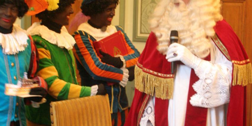 Foto van persconferentie Sinterklaas in Groningen | Bert van den Berg