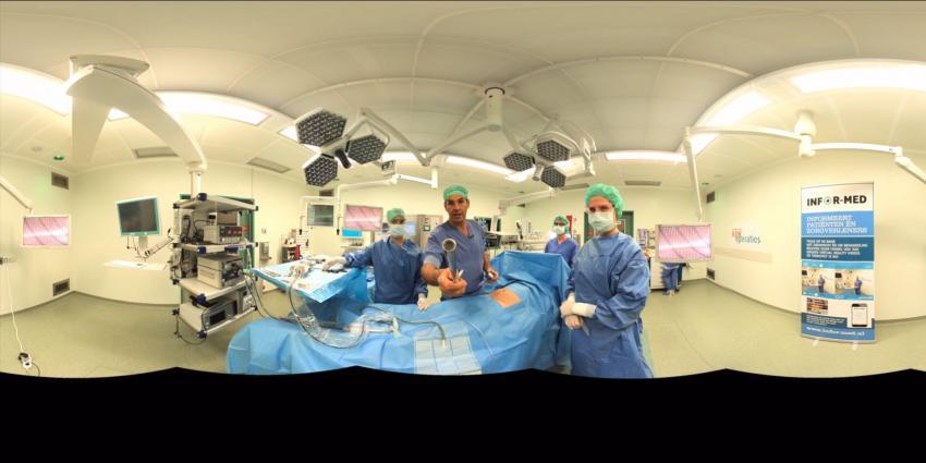 Virtuele voorbereiding verminderd angst in ziekenhuis