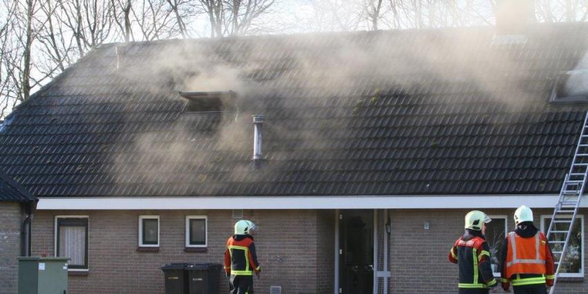 Foto van brand in woning | Van Oost Media | www.vanoostmedia.nl