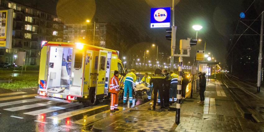 Gewonde bij aanrijding in Schiedam
