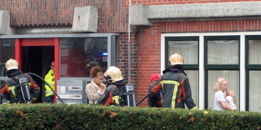 Keukenbrand in Groningen door pan op het vuur