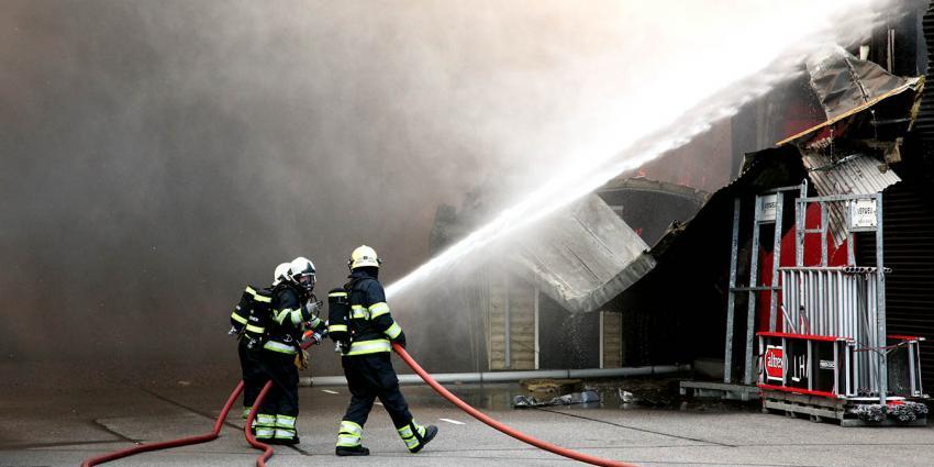 Foto van grote brand in Woerden | VM