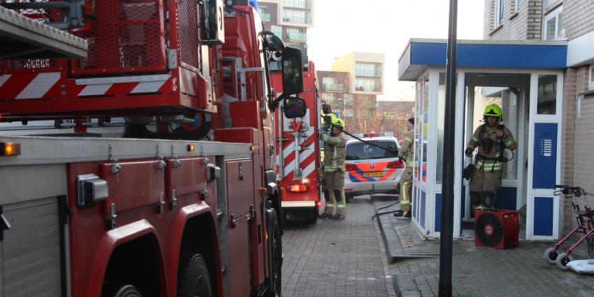 Drie gewonden bij brand in Schiedam