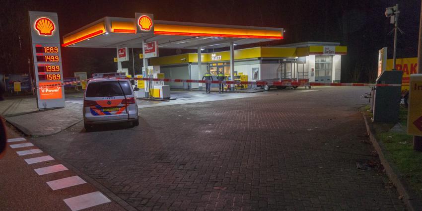 Overval op tankstation in Groningen