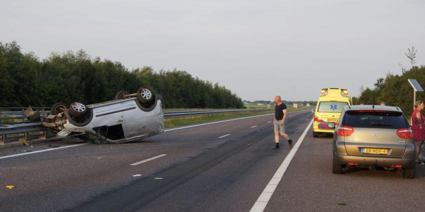 Ongeval op A37