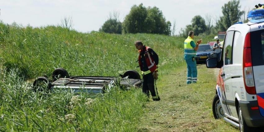 Foto van ongeval A7 bij Winschoten | DG fotografie | www.denniegaasendam.nl
