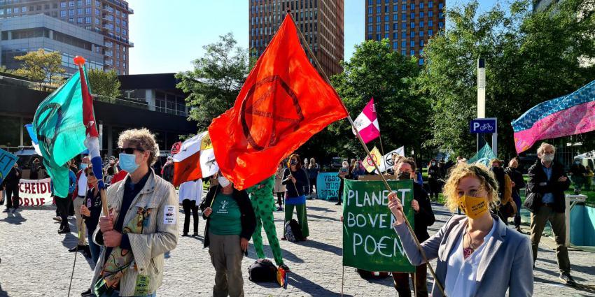 Demonstratie Extinction Rebellion