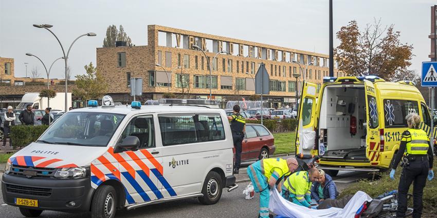 Gewonde bij botsing tussen fietsers