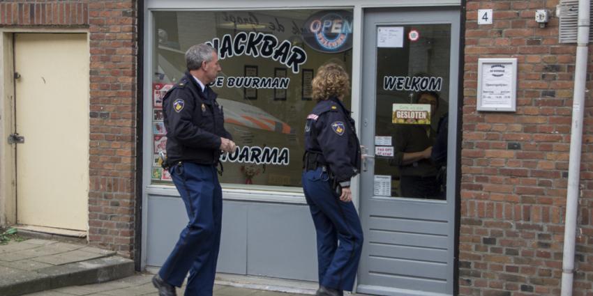 overval op snackbar in Schiedam | Flashphoto | www.flashphoto.nl