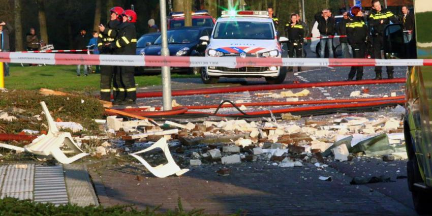 Zware explosie in appartementencomplex Veendam