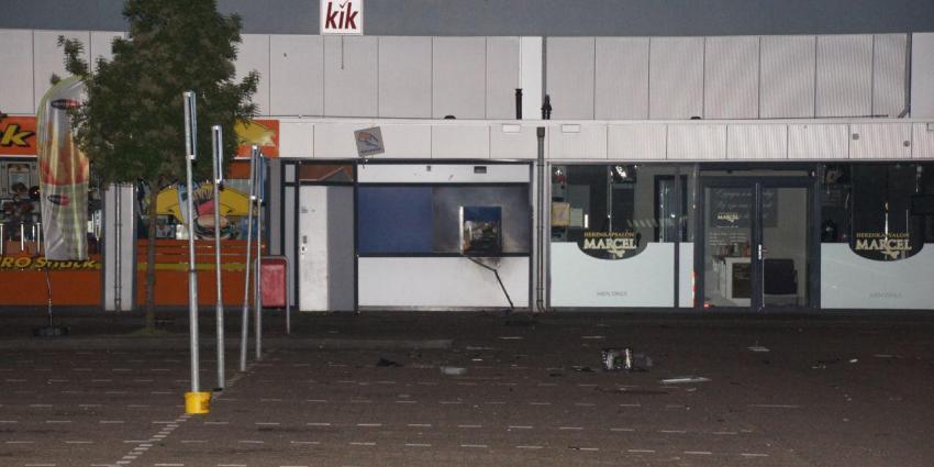 Plofkraak op geldautomaat in Emmen