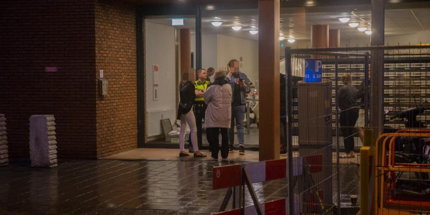 Foto van overval op woning in Groningen