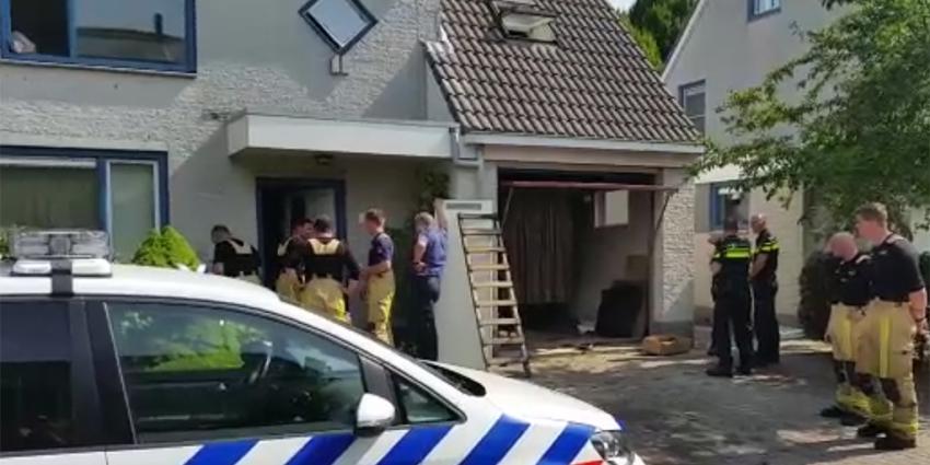 Hennepplantage gevonden tijdens woningbrand Uithoorn