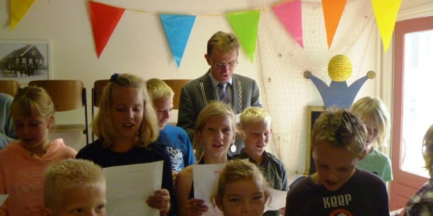Start Oktober Kindermaand op o.b.s. het Middelpunt te Noordwijk