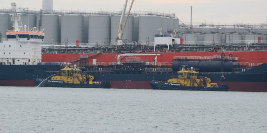 Gewonde bij explosie op schip