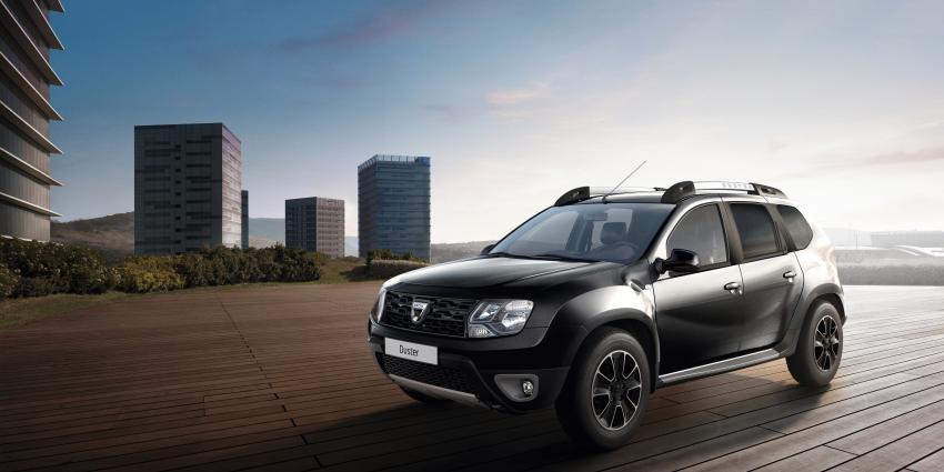 Dacia introduceert de Série Limitée Duster Blackshadow