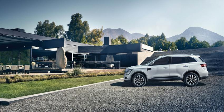 Renault Koleos stuk groter