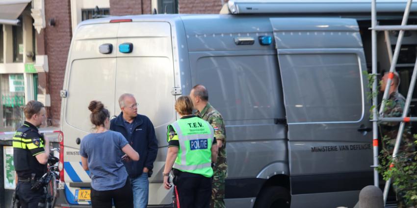 politie en explosieven opruimingsdienst