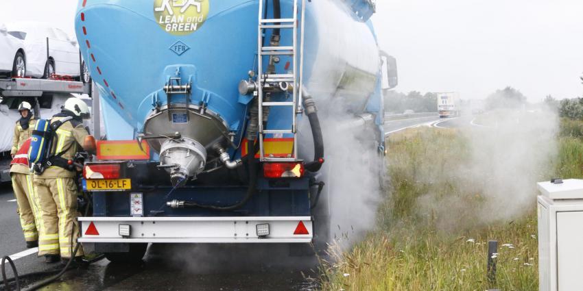 vrachtwagenbrand