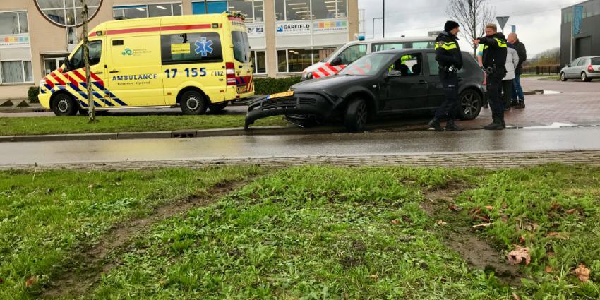 Forse schade door aanrijding in Schiedam