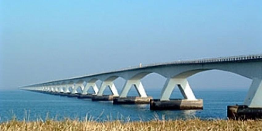 Afsluiting Zeelandbrug vanwege onderhoudswerk