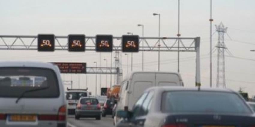 A44 afgesloten vanwege kettingbotsing