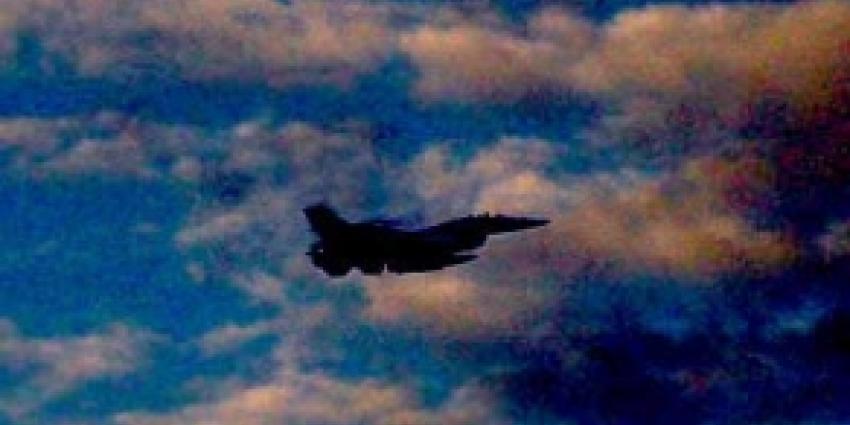 Russische bommenwerpers onderschept door F16's