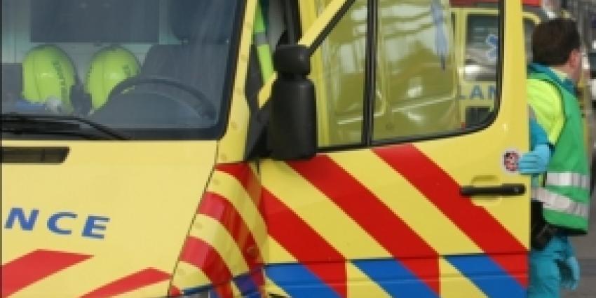 Twee gewonden bij verkeersongeval op A28