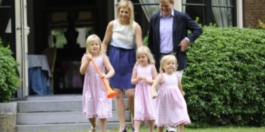Woonplaats gezin Koning en Koningin blijft voorlopig Wassenaar