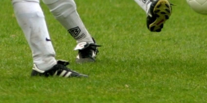 Foto van voetballers   Archief FBF.nl