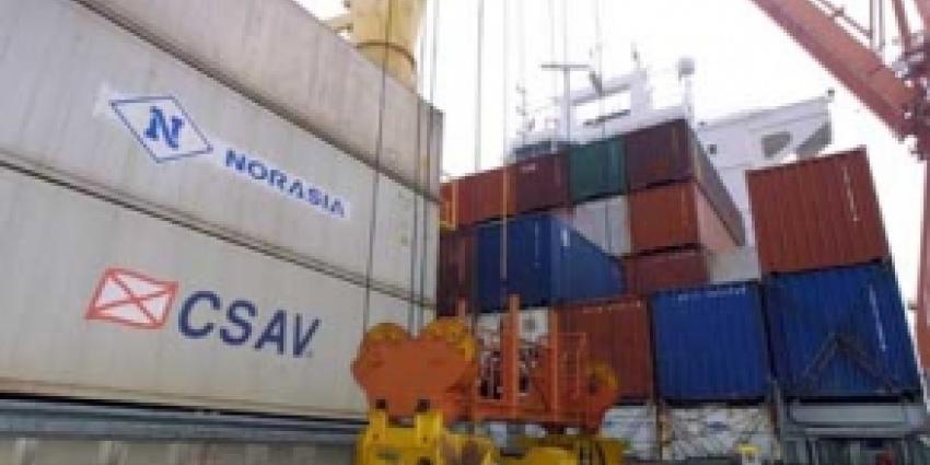 Drie containers met cocaïne onderschept