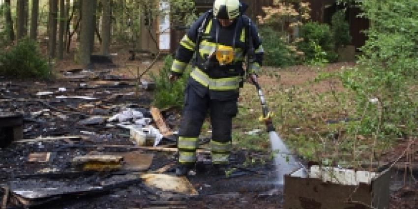 Vuurtje stoken in bosperseel loopt uit de hand