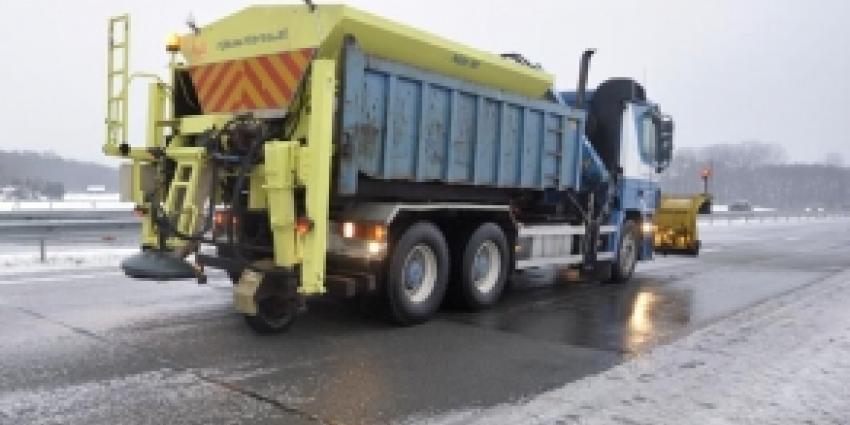 Rijkswaterstaat voorbereid voor sneeuwval