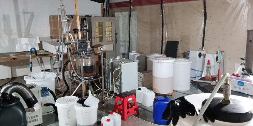 Aangetroffen laboratorium