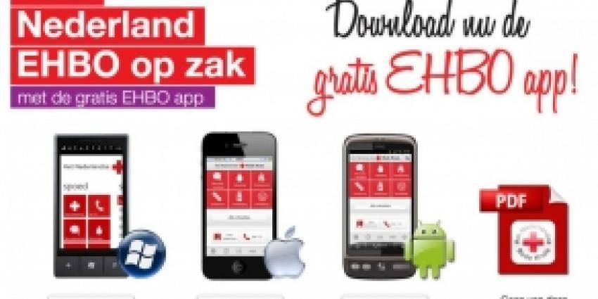 Eén op de zestien Nederlanders heeft EHBO-app