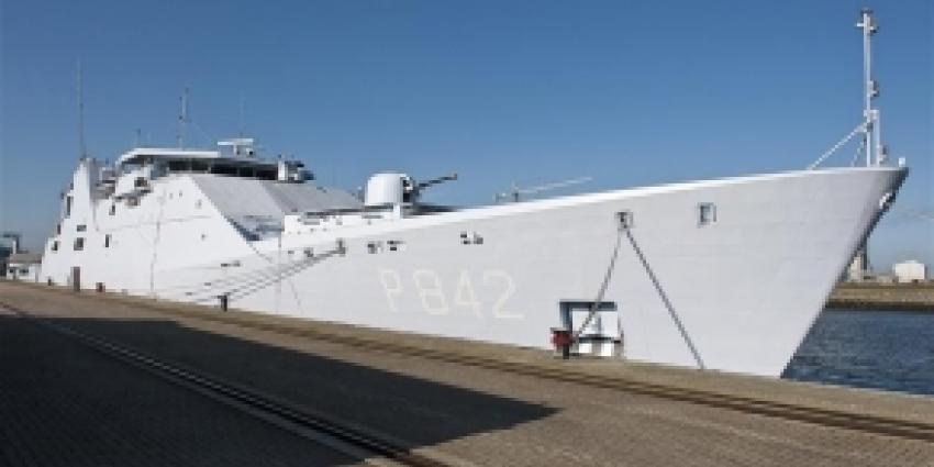 Marine onderschept 1453 kilo drugs