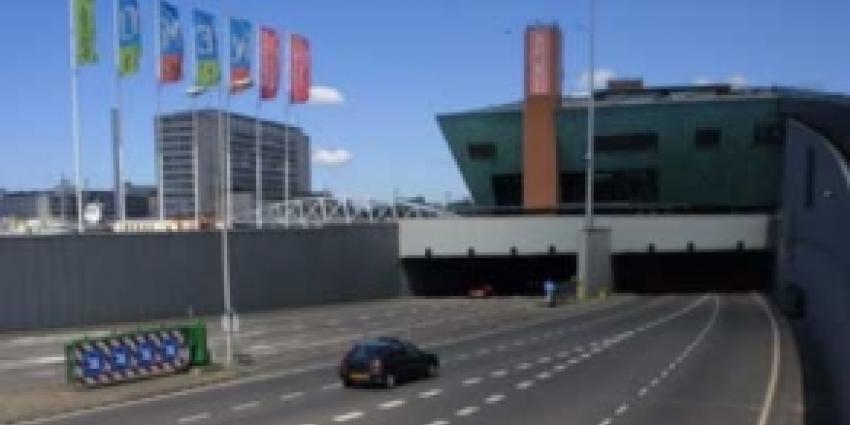 IJtunnel alle weekenden in maart afgesloten